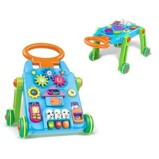 Premergator 2 in 1 Baby s Activity Walker,Lary Toys