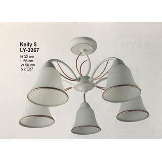Lustra Kelly 5xE27  LY-3267