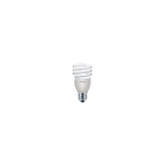 Bec economic Philips, ,forma spirala, E27, 20W, 10000 ore, lumina calda